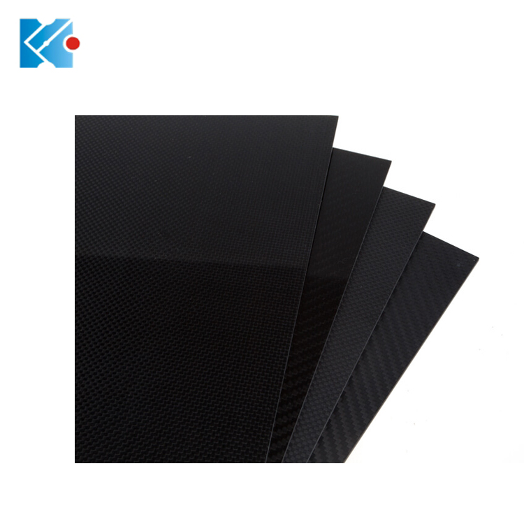 High strength 3k <strong>carbon</strong> fiber sheet 400*500mm with 0.5mm thickness