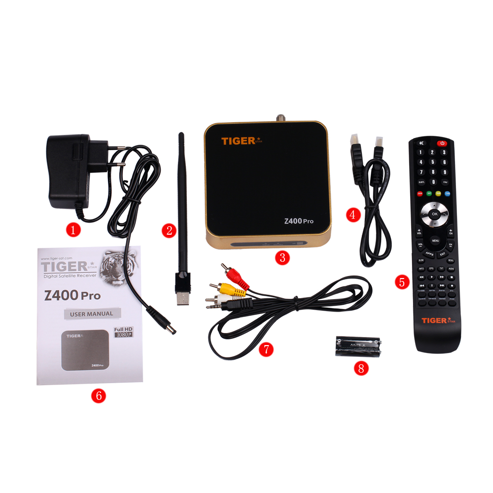 HOT koop Arabië IPTV Box Tijger Z400 pro hindi blue movie downloaden gratis 2016 Satellietontvanger