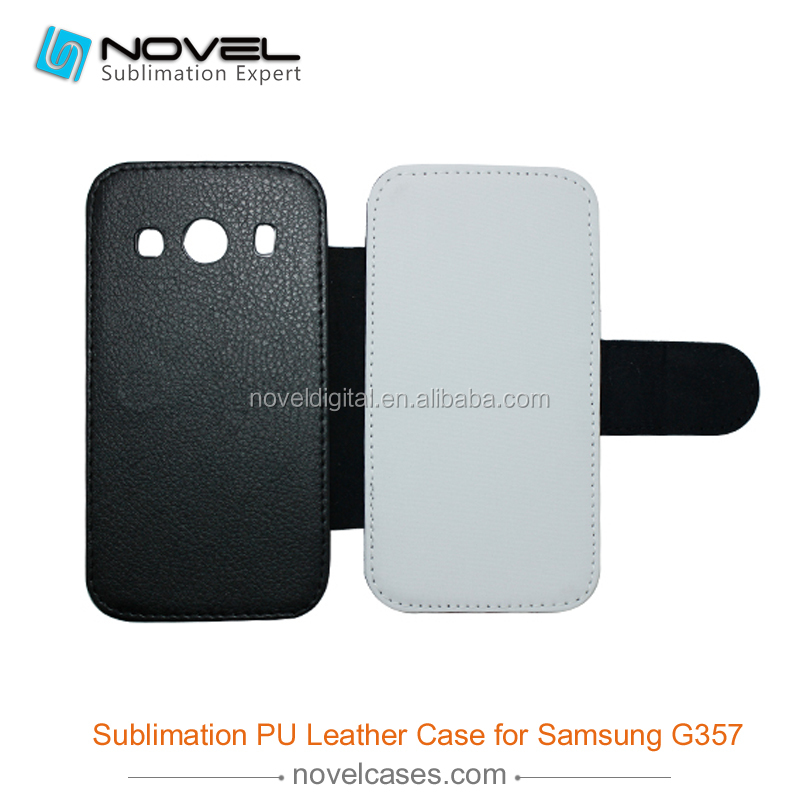 sublimation phone cover for leather samsung galaxy Ace 4 G357