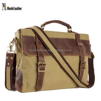 Large Canvas Leather Travel Bag 0ff5021145301