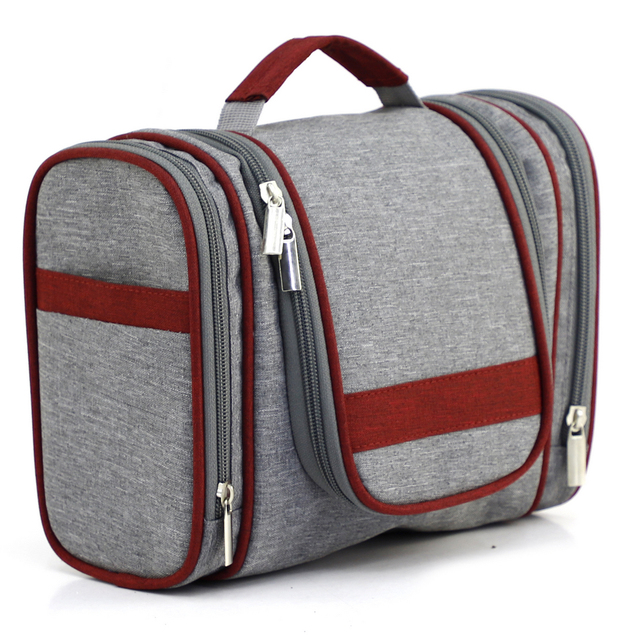 Hot Style Custom Portable Large Capacity Hanging Waterproof Cosmetic Bags  Men Travel Toiletry Bag Wash Bag 9a0b9ab8d0f4f