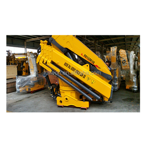 hot product Max loading 12 tons Knuckle truck crane made in China