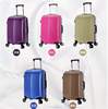 high quality and cheap abs trolley school bag for adults and students luggage set