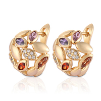 Popular Fashion Design jordan fantasy/fancy stud earring wholesale