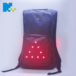 Wholesale custom outdoor cycling hiking running sports water hydration backpack with LED flashing light