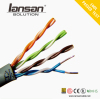 custom printed lan cat5 UTP ethernet cable with Rohs