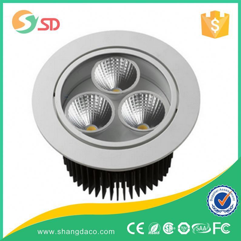 Shangda Professional Downlight Special Design 50W 60W 70W 80W Recessed COB LED Down Light