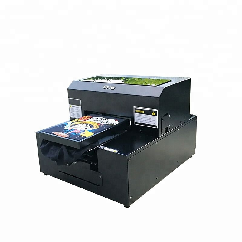 Doeken Printer Gebruik en Flatbed Printer Plaat Type goedkope direct naar kledingstuk printer
