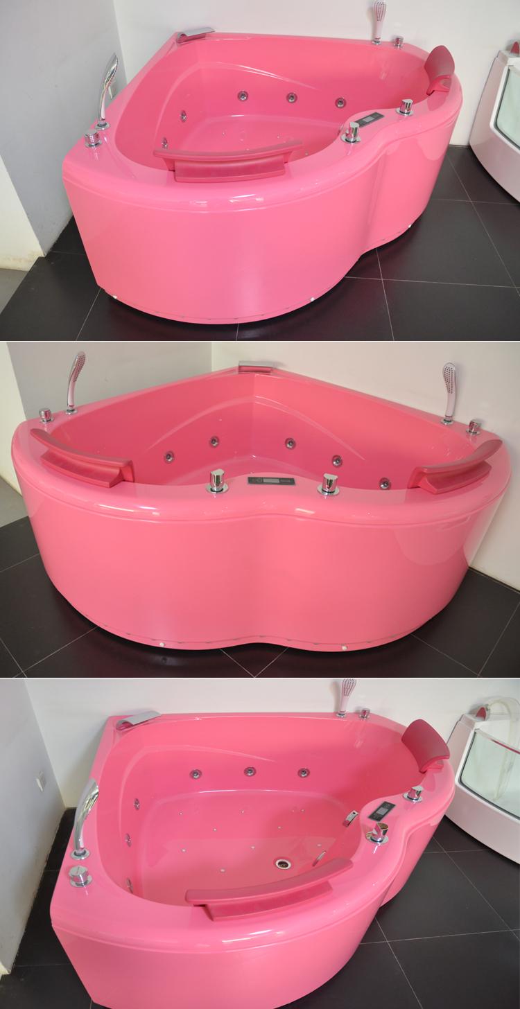 Waterfall Bathtub Corner Massage Tub With Waterfallbathtub Seat Cushionbest