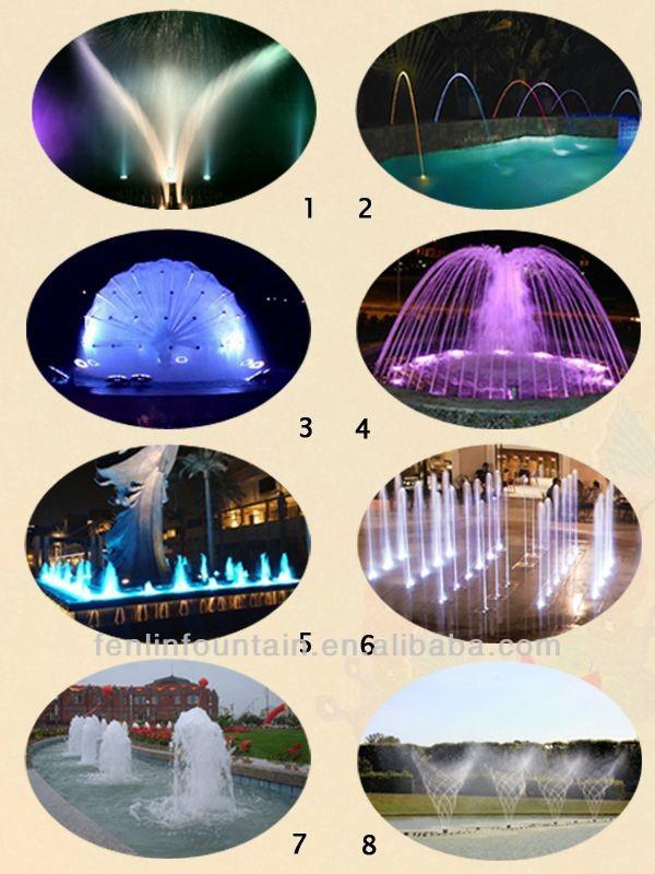 large outdoor swing water fountain waterfall