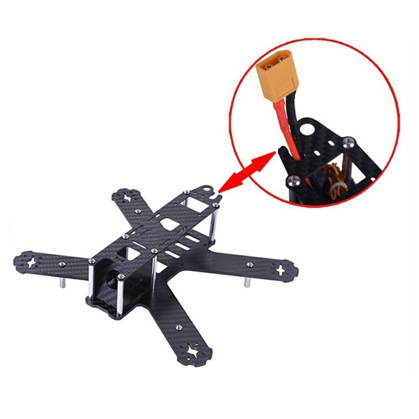 Best sell quadcopter fpv 130/180/210 mini drone race frame carbon