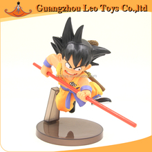 Wholesale Dragon Ball Z Goku Anime Cheap Price Plastic Kids Hot Toys Action Figures