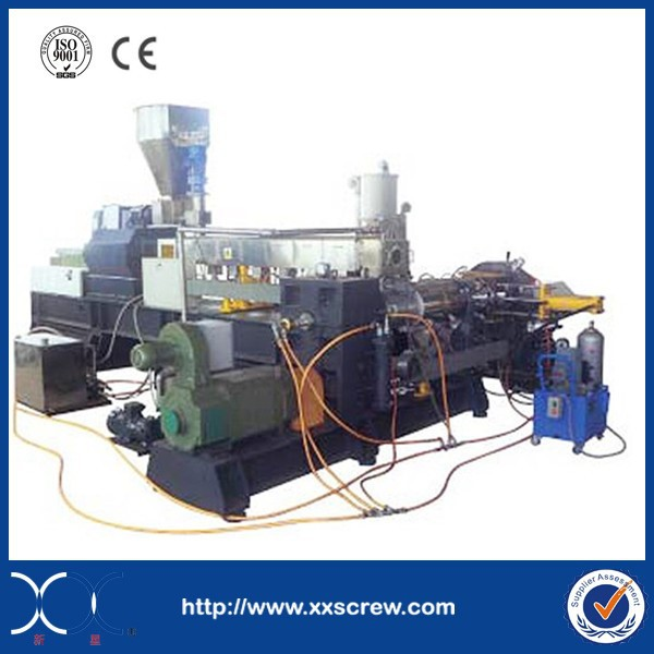 Double Stage Wind Cooling Rub Surface Hot Cutting Granulating Unit Pelletizing Line