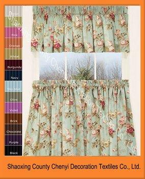 New Garden Floral Tier Kitchen Design Curtain Buy Kitchen Design Unique Kit