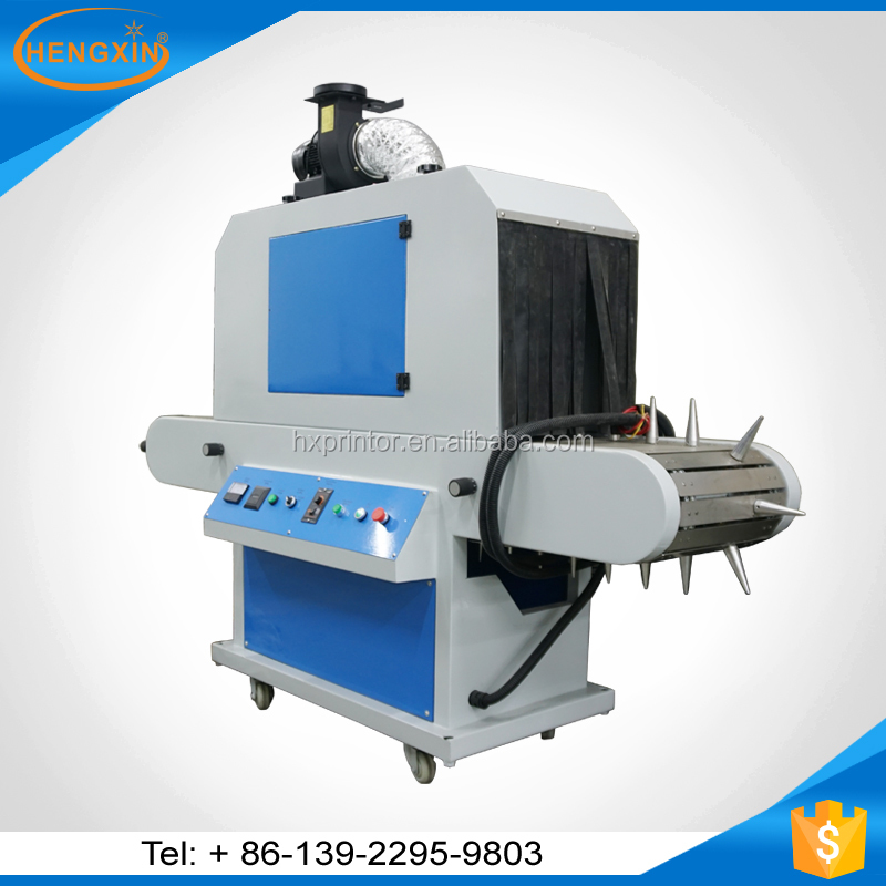 conveyor tunnel uv dryer for screen printing