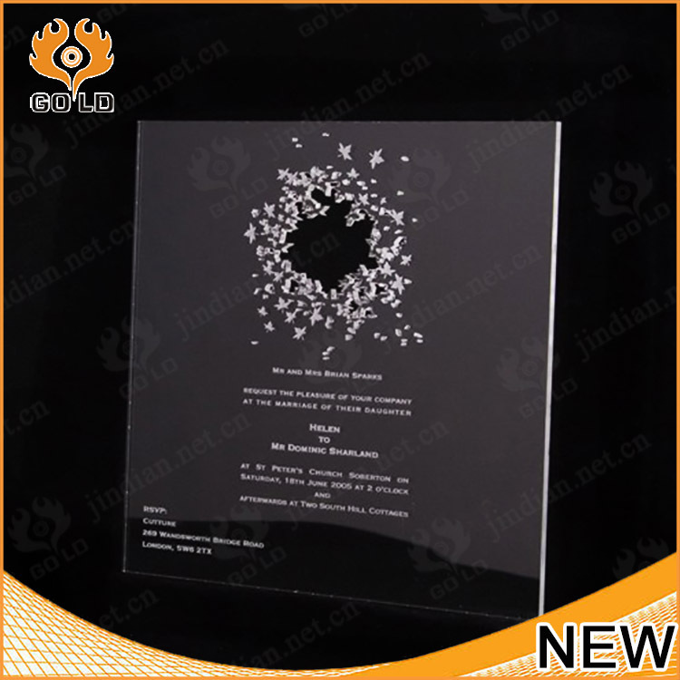 Acrylic Wedding Invitation, Acrylic Wedding Invitation Suppliers And  Manufacturers At Alibaba.com