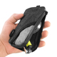 Small Activated Carbon Odor Proof Pouch Bag With Zip Hook