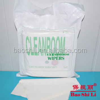 Disposable cleaning tissue cleaning wipes industrial polyester cleanroom wipes