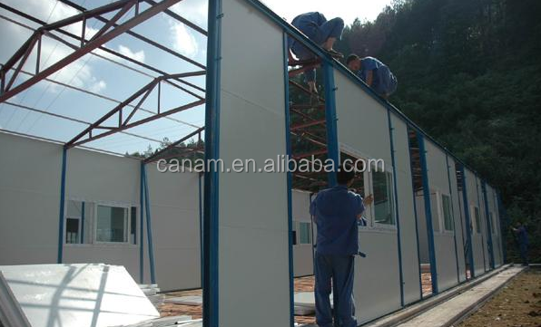 New Strong Waterproofing Materials for Light Steel Prefab House