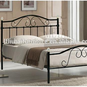 Cast Iron Steel King Size Bed Frame Victorian King Metal Bed Frame