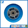 flat free tire 48x156 small size solid PU foam wheel