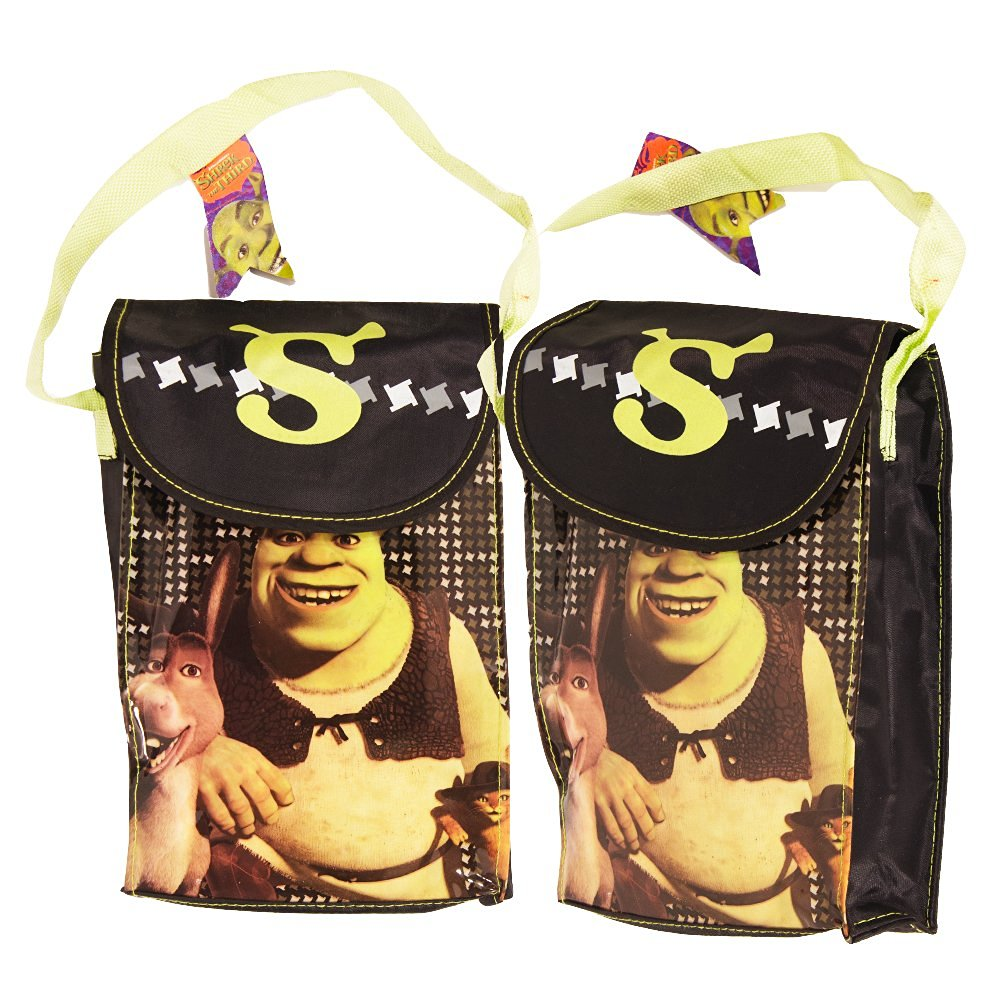 Shrek Lunch Bag Set -- 2 Reusable Lunch Bags (Back to School Supplies, Party Supplies)