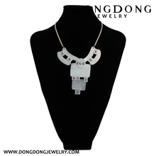 DL077 alloy abstract animal shape pendant necklace jewelry for party