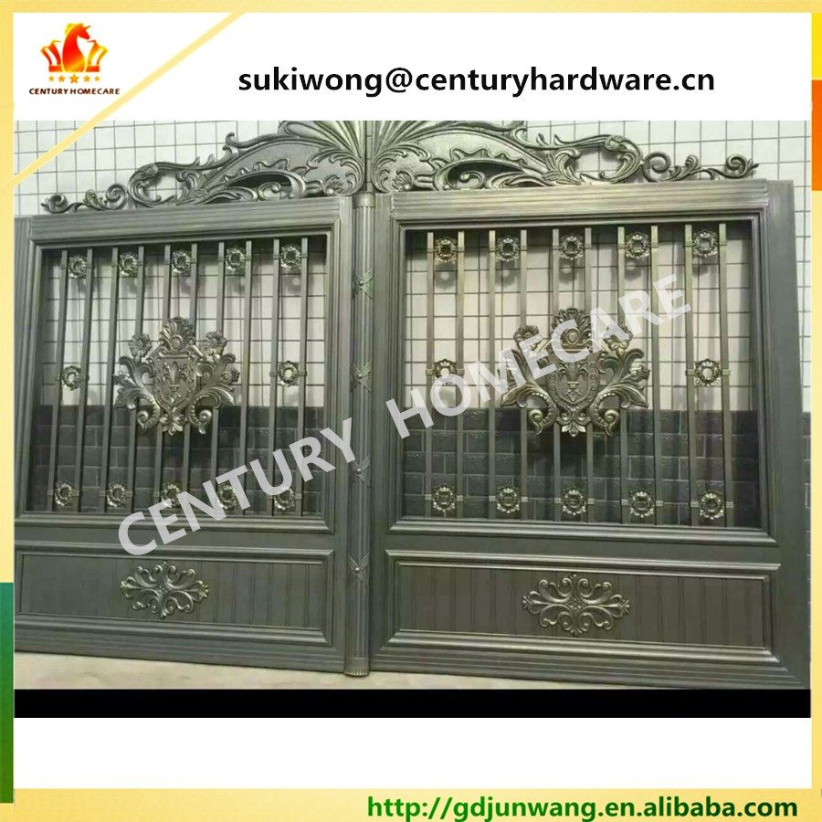Beautiful Residential Wrought Iron Gate Designs Wrought