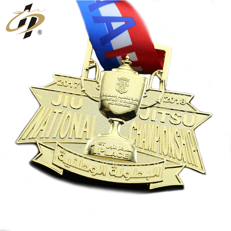 Manufacture Cheap Wholesale Custom Metal Award Marathon Running Trophies Sport Medal No Minimum Order
