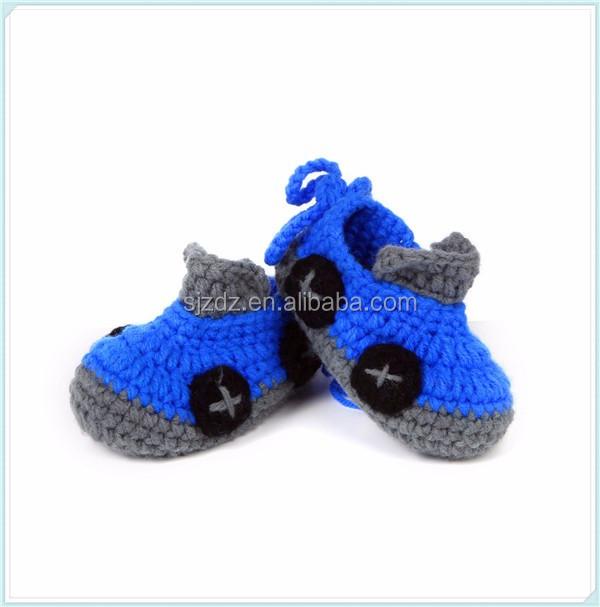 Mini Coche De Dibujos Animados De Los Niños Zapatos De Bebé Hecho A ...
