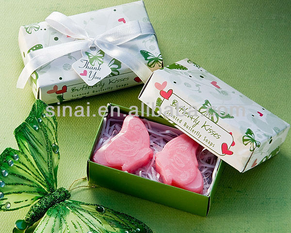 "Pink ""Love Doves"" Scented Soaps"