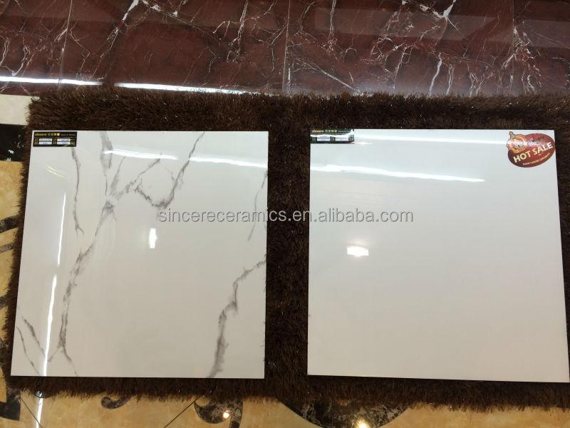 New Design 70 Whiteness Italian Marble Price Glazed Tile