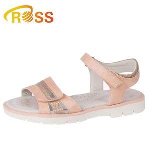 353ec6ca9 2019 Latest Design Wholesale Kids Flat OEM School Girls Sandals