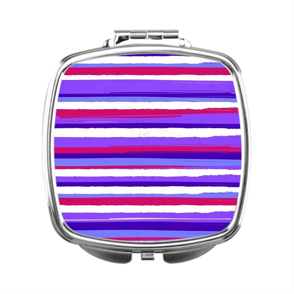 black T Dressing Mirror Lines Compact Makeup Mirror Design Compact Mirror Gift Pattern