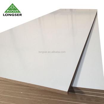 Favorit 18 Mm Weiße Laminierte Melamin-mdf-platte - Buy Melamin Mdf-platte DA62