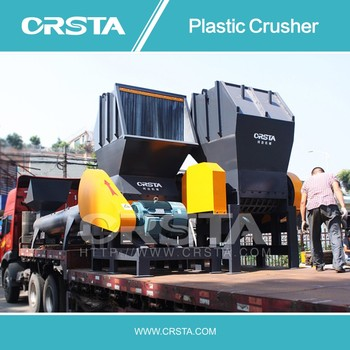 plastic PET HDPE PP bottle crusher/ PET bottle plastic grinder/ PP HDPE bottle plastic crushing machine