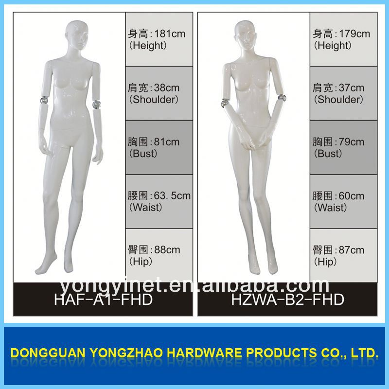 Beautiful appearances!!ladies full size stylish mannequin/model/dummy