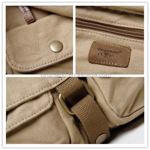 2018 Latest Stylish Messenger Shoulder Long Strip Bag For S Cotton Canvas College Bags
