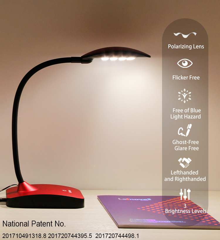 online shopping eye-protection student study reading light adjustable led study lamp