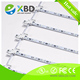 SMD 2835 rigid LED strip/ aluminium profile led strip bar/Flexible lattice LED Light Bar, scrolling led strip curtain backlight