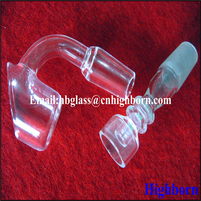 club banger domeless quartz glass nail tube for smorking