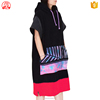 Super absorption 100% cotton surf Hooded poncho towel adult