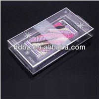 cell phone case box pvc Plastic packaging box for cell phone case