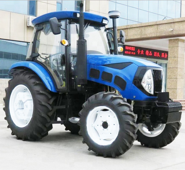 Cheap price 85hp 4wd china farm tractor for sale