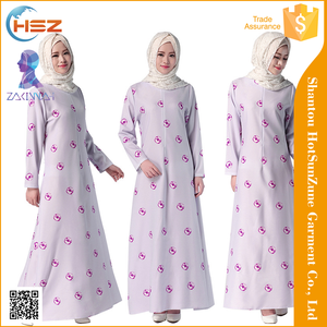 Zakiyyah 044 New Style Muslim Abaya Burqa For Women Moroccan Kaftan Dress With Hemp Islamic Product Wholesale