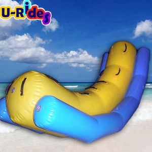 Inflatable Water Seesaw Used In Water Park Or Swimming Pool