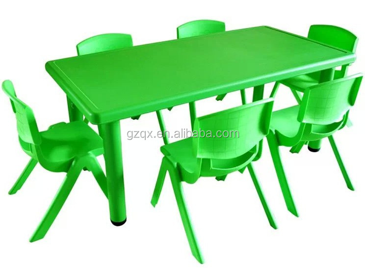 Cheap Plastic Dining Table And Chairs Qx 194g Little Kids Table