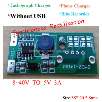 Without Usb Dc 12v/24v/36v/38v/40v To 5v 1a 2a Car Power Supply Converter  For Diy Vehicle Recorder Ipad Phone Charger - Buy Dc Dc Converter 12v To 5v