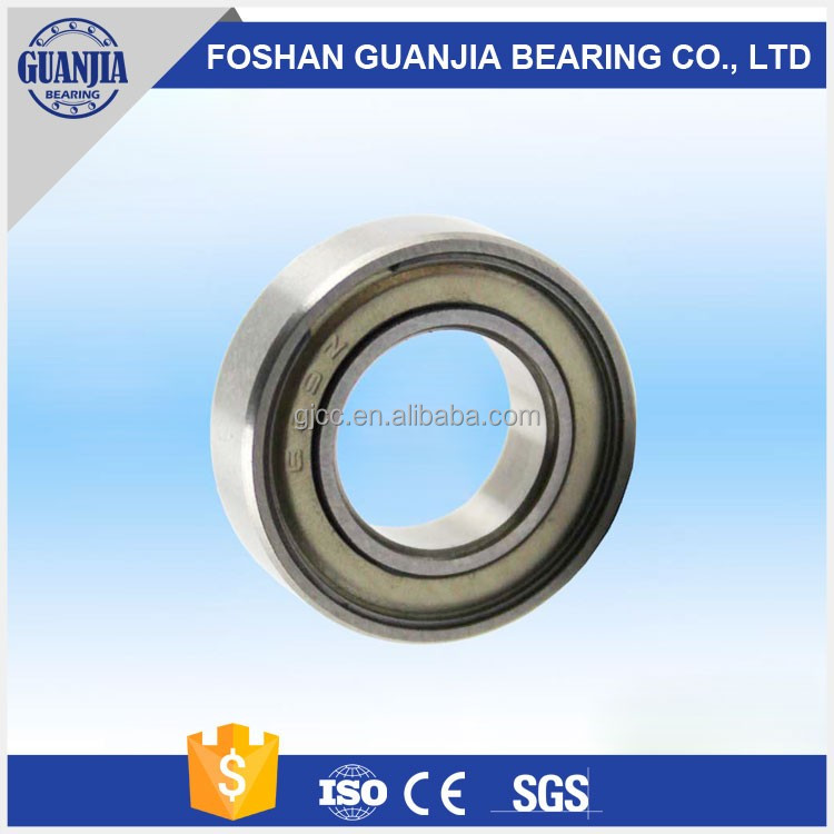 China Factory Deep Groove Ball Bearing 6302Z