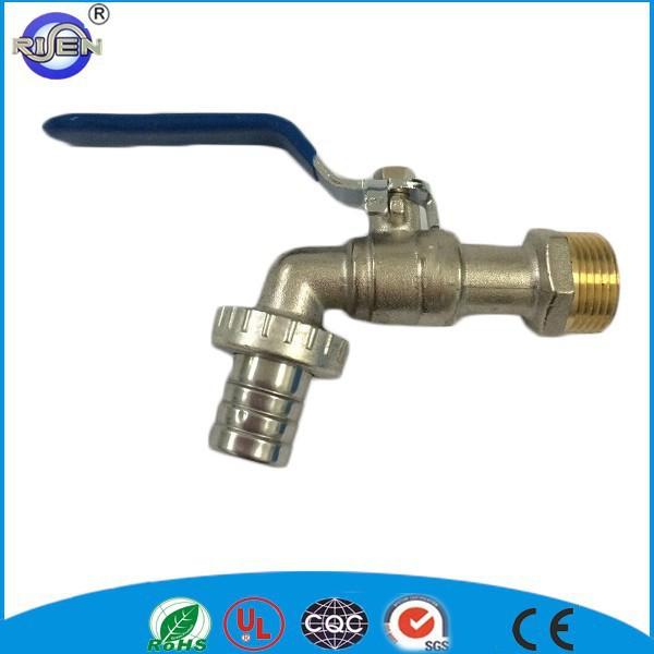 China Manufacturer Cw617n Nickel Plated Sanwa Garden Brass Bibcock ...